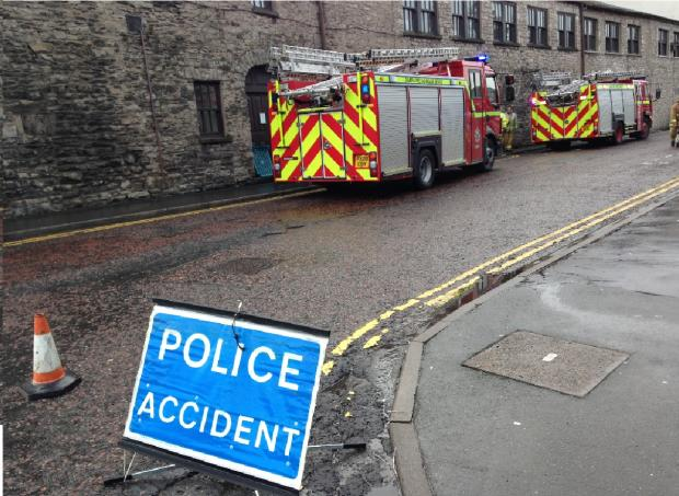 Kendal hotel guests evacuated after fire in changing rooms