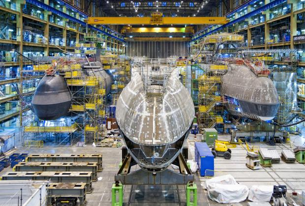SINKING PROFITS: But nuclear submarine jobs safe at Barrow
