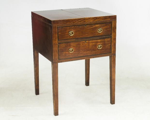 Gillows mahogany dressing table dated to around 1790