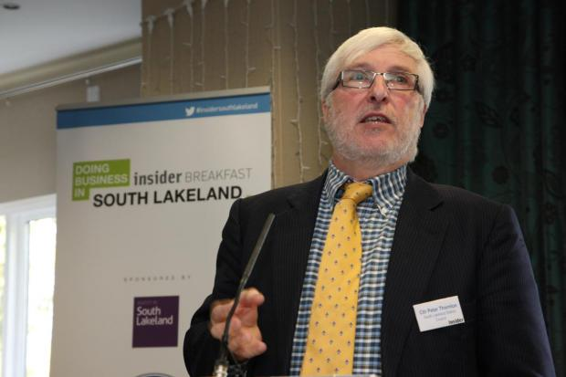 The Westmorland Gazette: SLDC council leader Peter Thornton