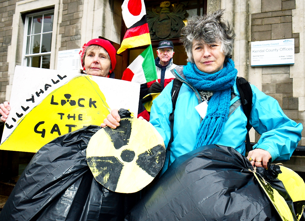 Protestors fear 'radioactive waste dump' as Lillyhall planning permission extended