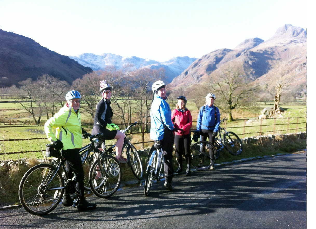 Cycling is a great way to see the Lake District