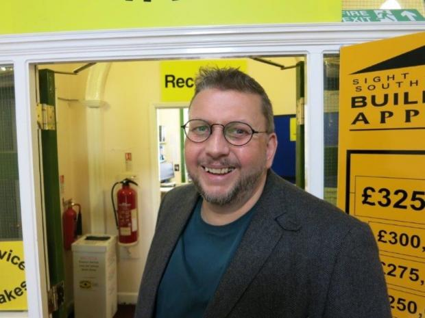Sight Advice South Lakes new director Mark Griffiths