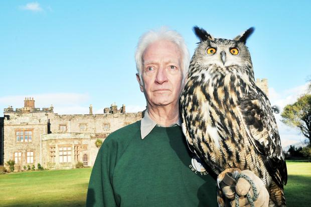 GRATEFUL: World Owl Trust president Tony Warburton is encouraged by the public response to WOT's plight