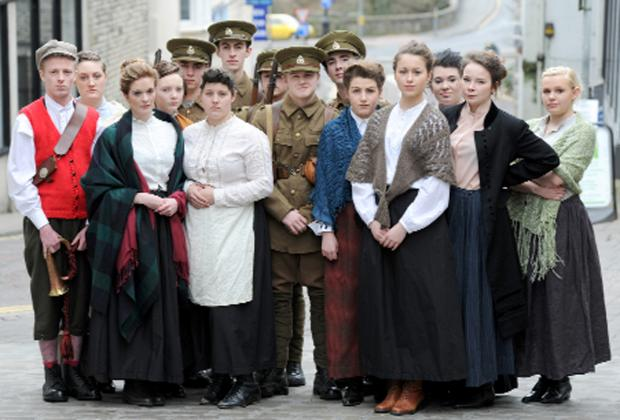 Students tell the story of The Accrington Pals