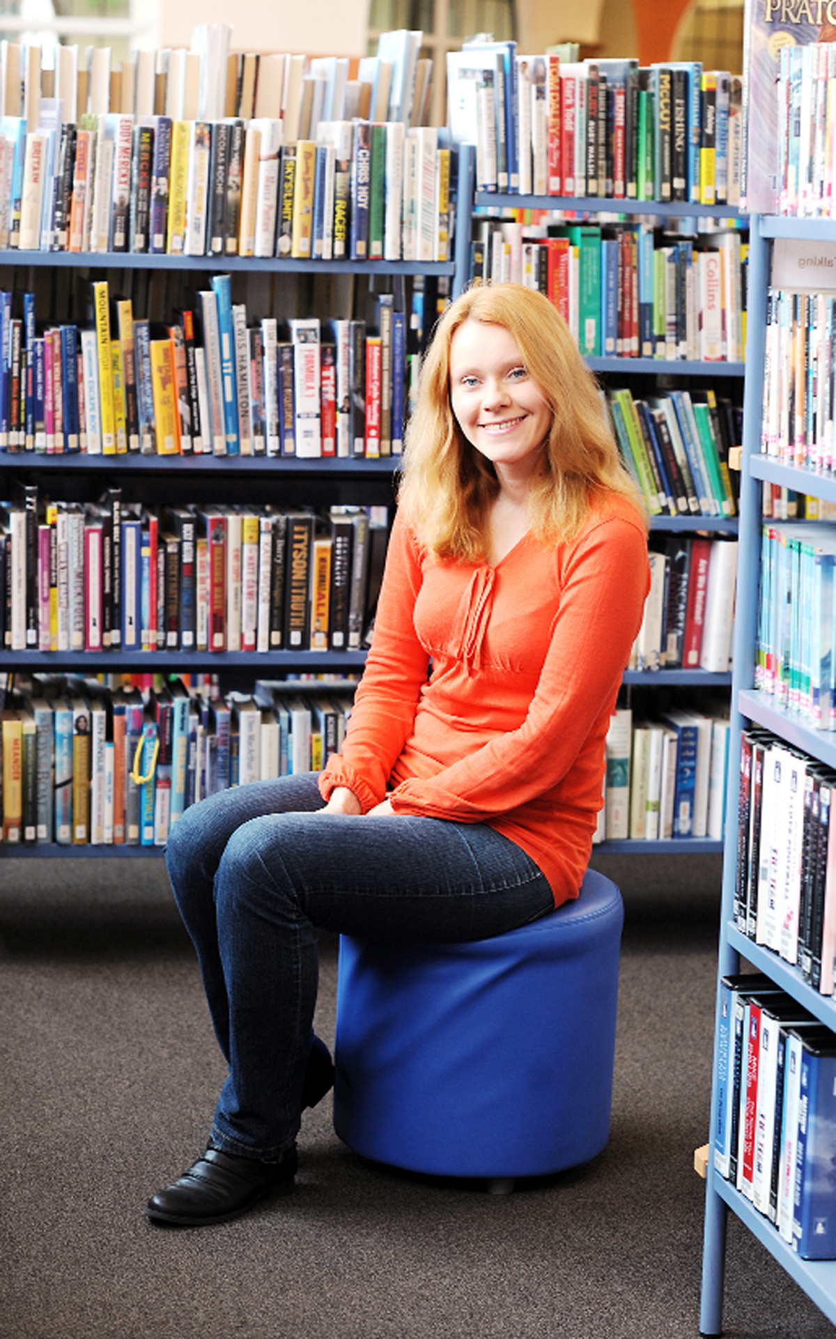 Kinga Cichowska works at Kendal Library and teaches Polish