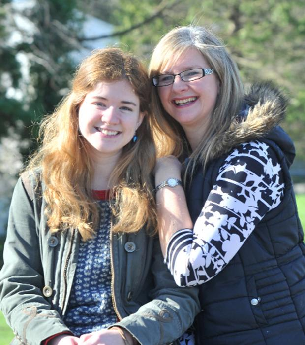 The Westmorland Gazette: Sue Funning with daughter Bekah