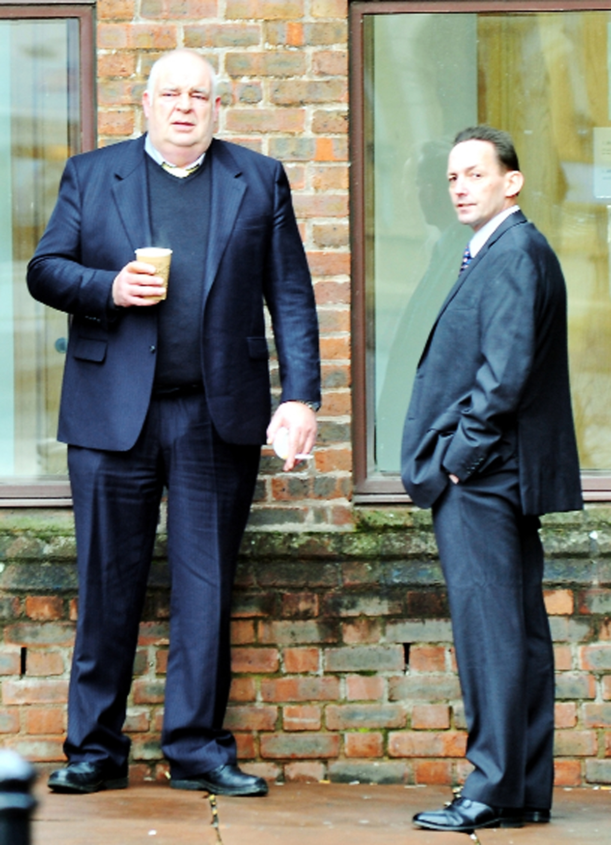 Derek Henderson, left, and Richard Hayes at Carlisle Crown Court