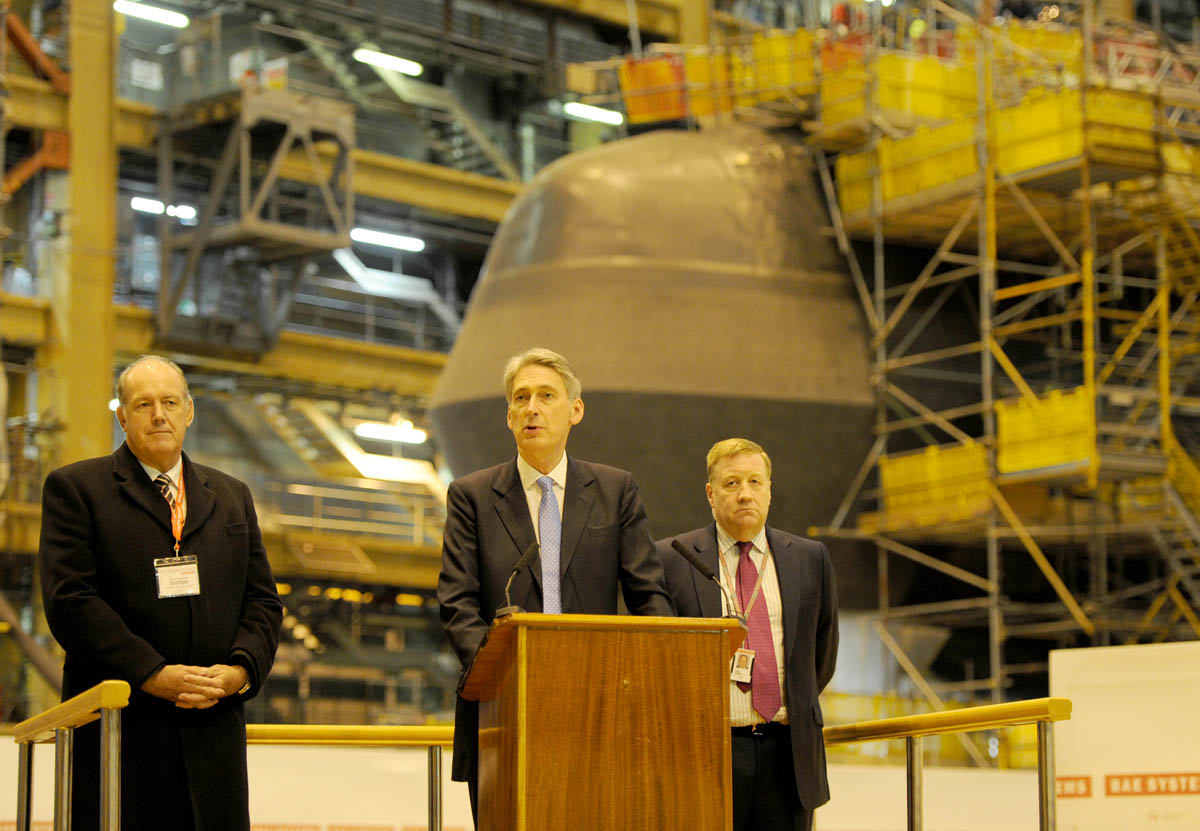 Defence Secretary announces £300m investment at Barrow shipyard