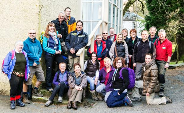 The walkers who recreated the Lake District's first group walk from Ambleside 150 years on