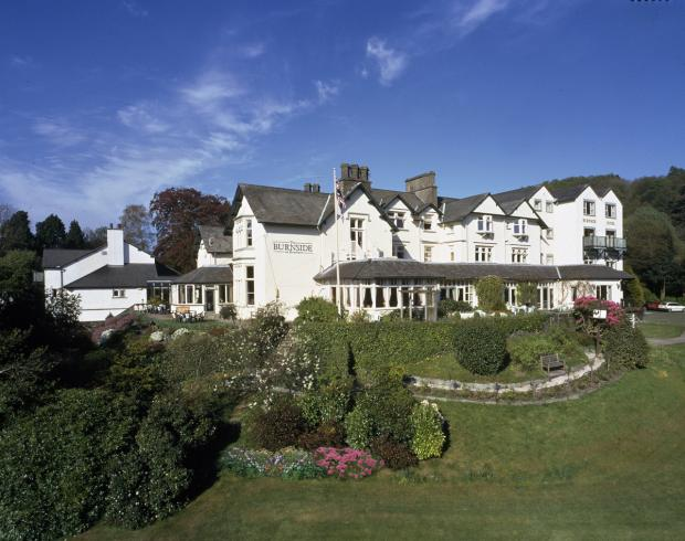 IMPOSING: Burnside Hotel, Bowness-on-Windermere