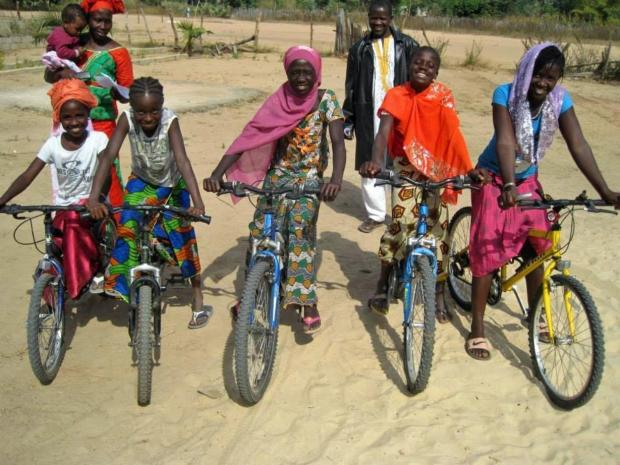 Kendal recycled bikes will go to Africa