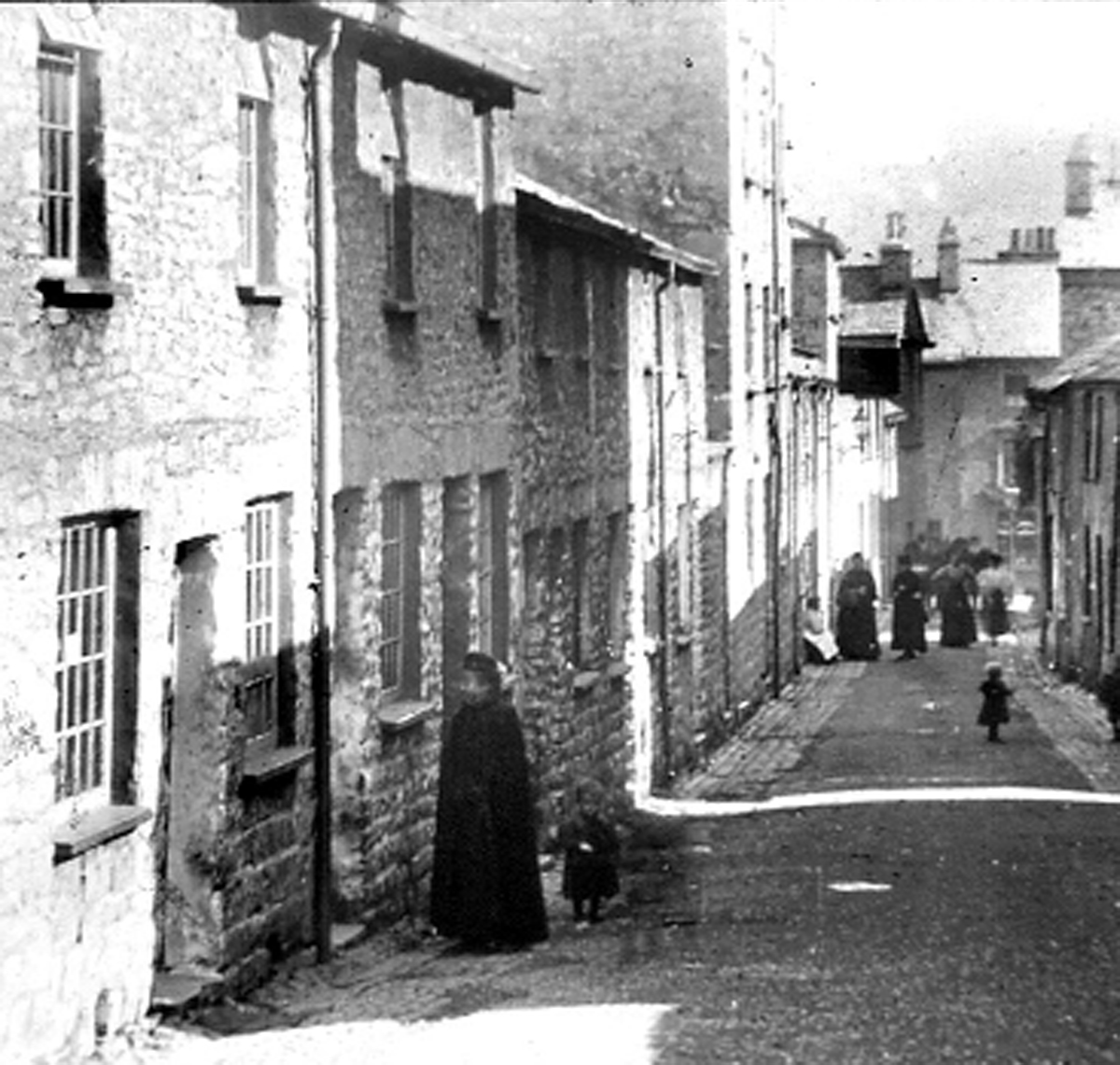 A view down Captain French Lane