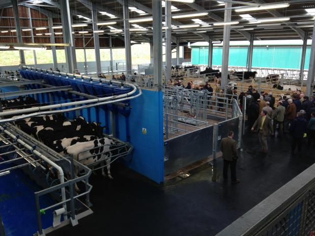 New £2.4m dairy unit opens at Newton Rigg College