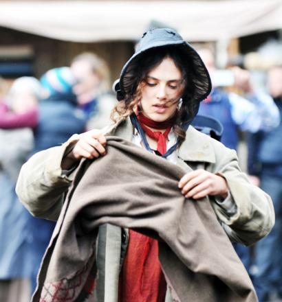 Jessica Brown-Findlay starred in scenes from Jamaica Inn, partly filmed in Kirkby Lonsdale