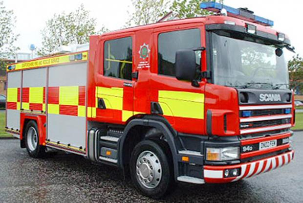 Firefighters tackle Grange-over-Sands car blaze