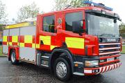 Fire crews fight tractor blaze on South Lakeland road