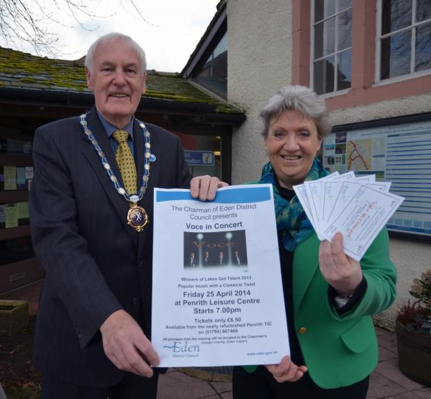 Concert to raise funds for Eden Carers
