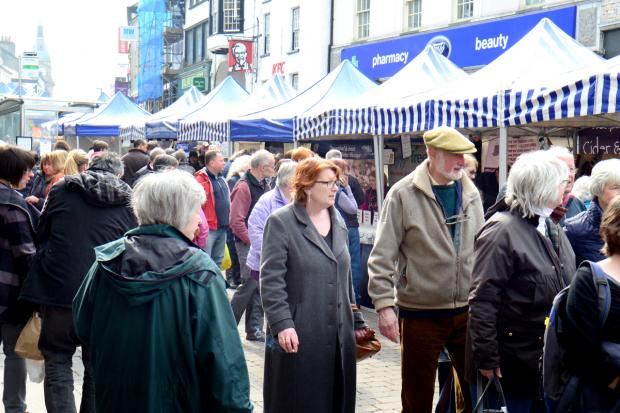 Fantastic first day for Kendal Festival of Food