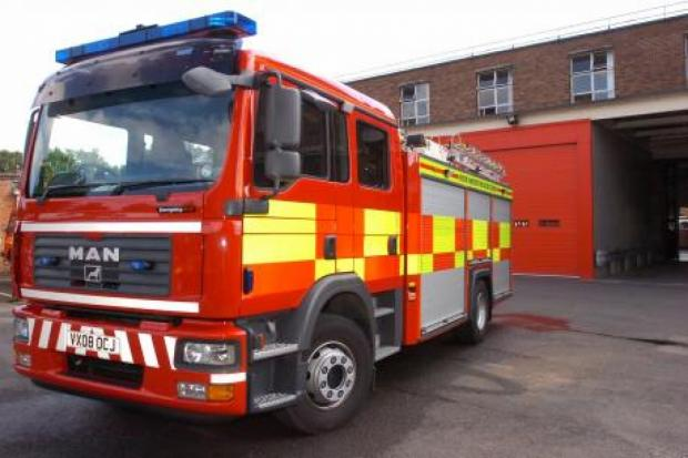 Cumbria's firefighter responded to nine incidents during industrial action