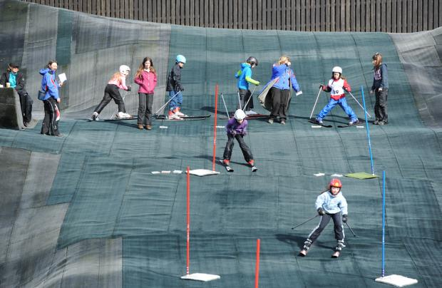 Primary schools from all over South Lakeland at Kendal Snowsports Club