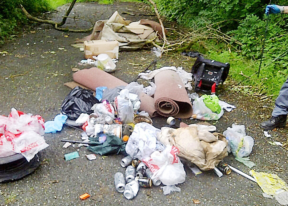 South Lakes declares zero tolerance on fly-tippers