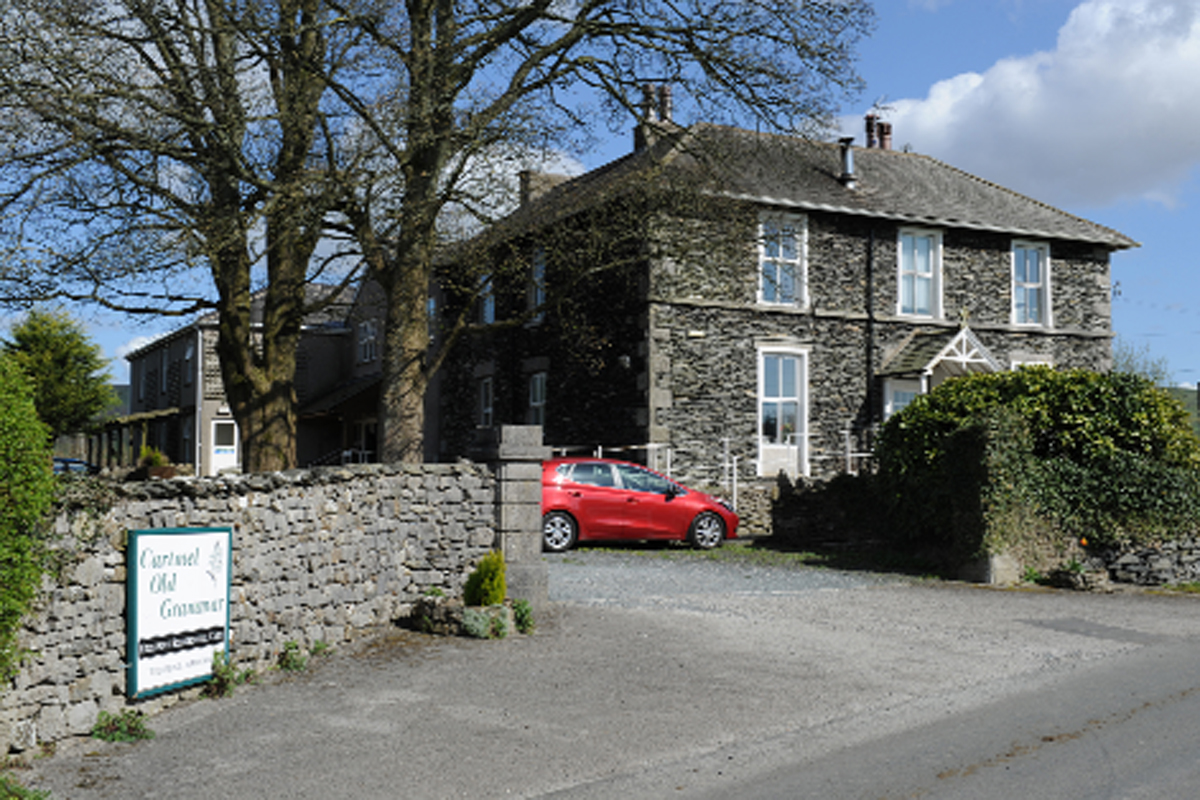 Cartmel Old Grammar care home