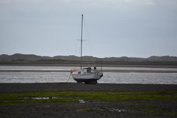 The Ravenglass estuary