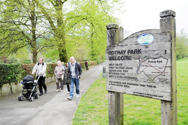 There are fears the creation of a cycle route in Rothay Park, Ambleside, could encourage cyclists to speed through
