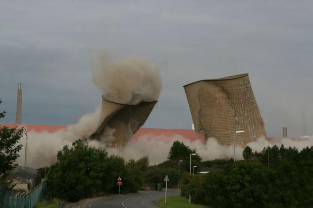 One of the most dramatic demolition projects so far has been the explosive demolition of the cooling towers in 2007