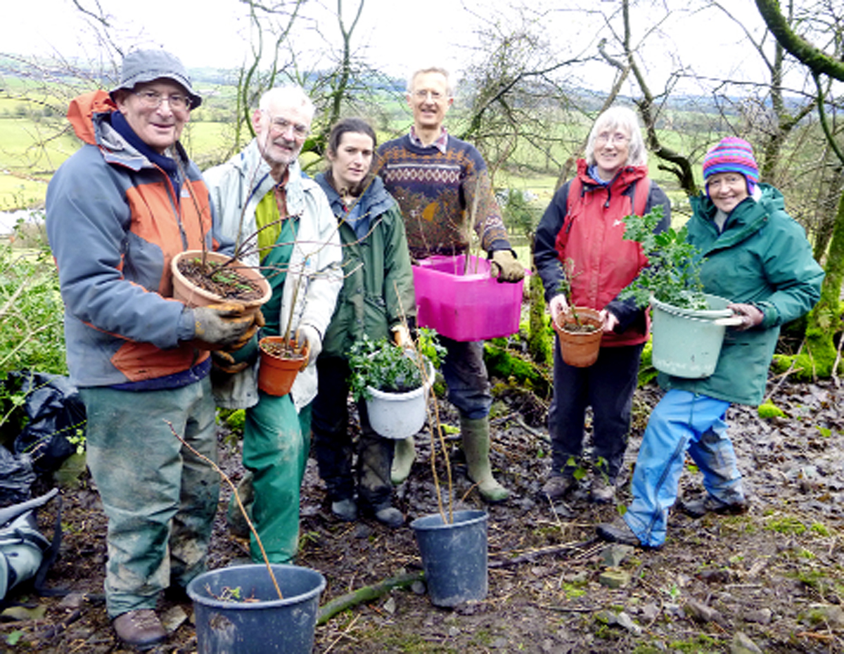 Friends of the Lake District volunteers at work