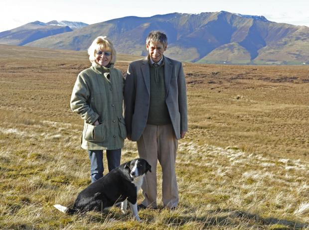 The Westmorland Gazette: Lord and Lady Lonsdale at the foot of Blencathra