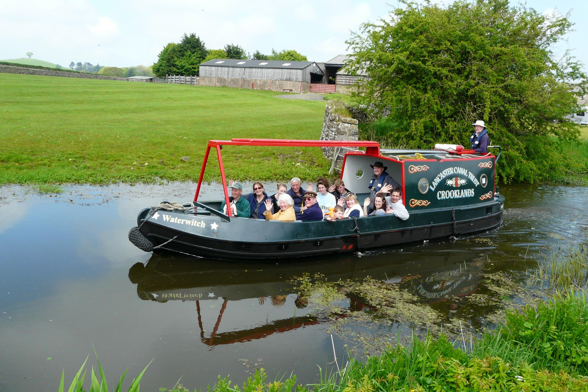 Thousands of pounds granted to Lancaster Canal