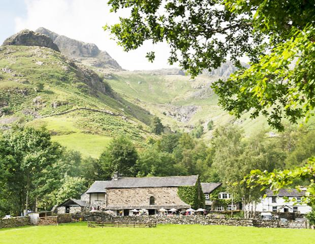 Langdale, in the heart of the Lake District