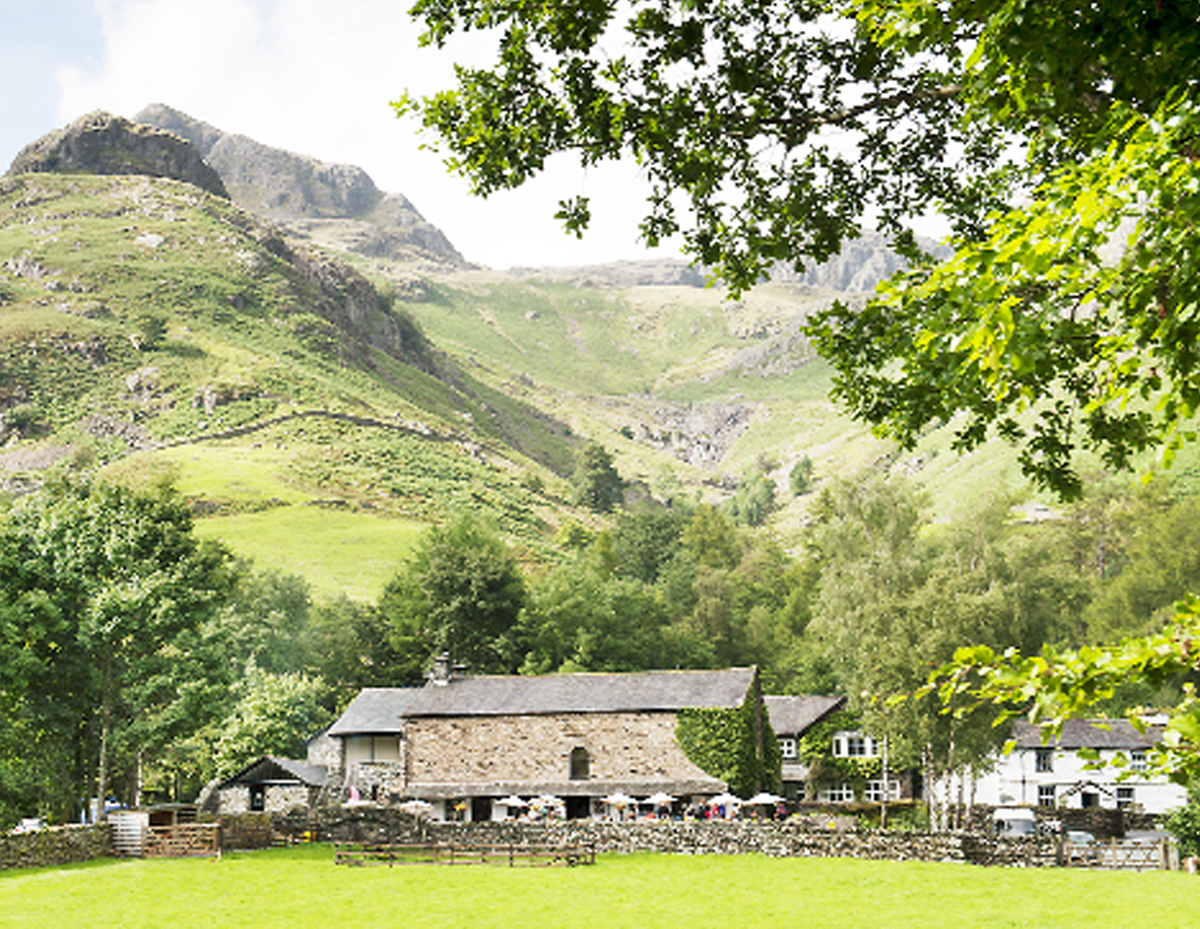 Langdale, in the he