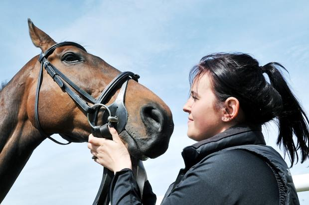 Success: Trainer Gemma Walton with Forge Valley