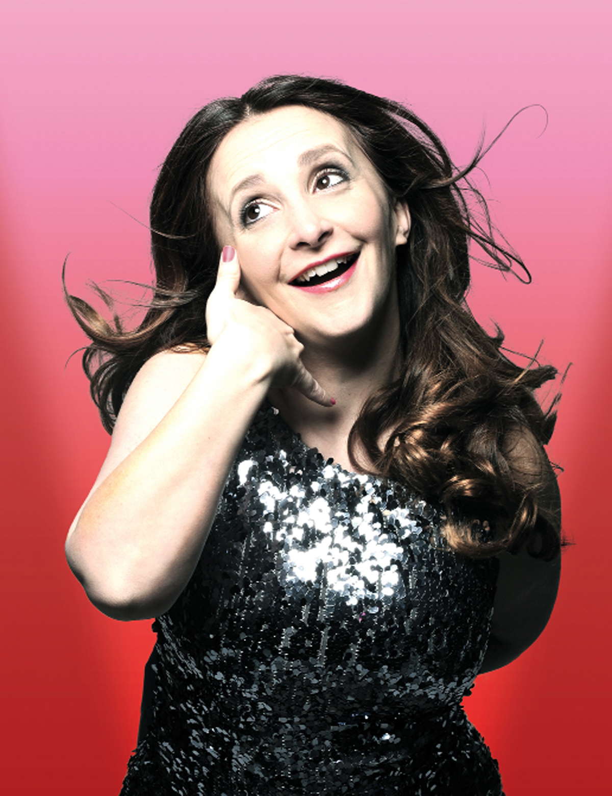 Lucy Porter, one of the stars of the festival