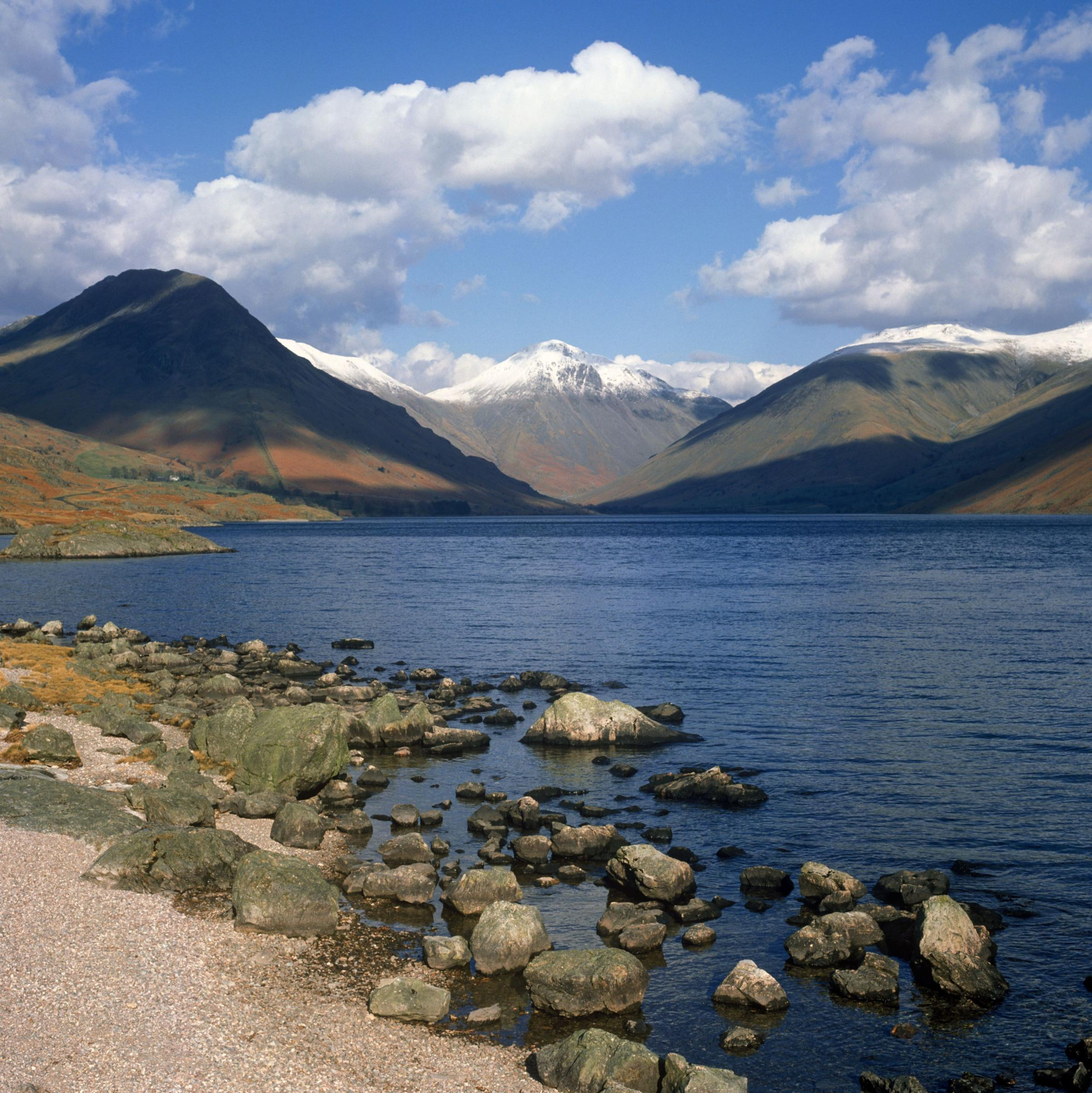 The landscape of the Lake District - a big attraction for tourists