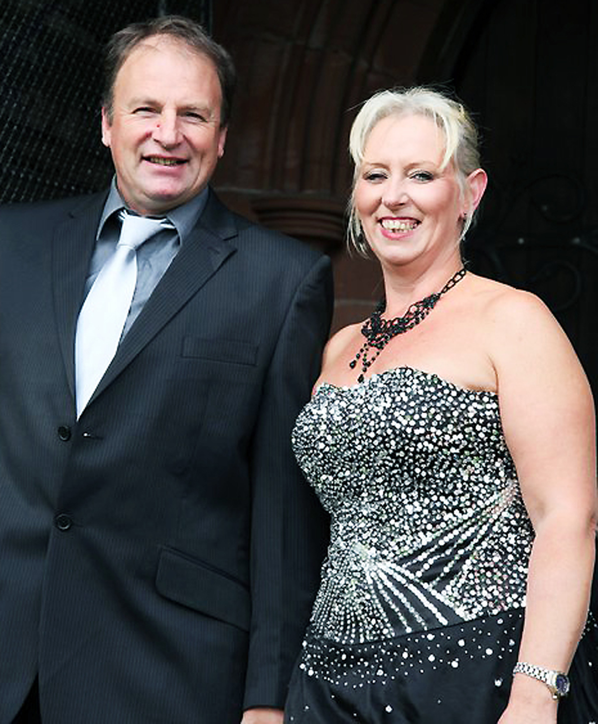 Builder Steven Young and his wife Fiona