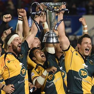 Northampton won the Amlin Challenge Cup thanks largely to Stephen Myler's match haul of 20 points