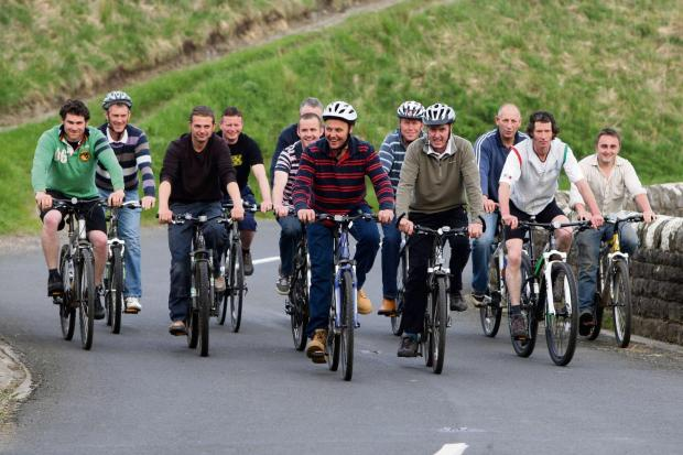The popularity of the coast-to-coast cycle route shows no signs of diminishing