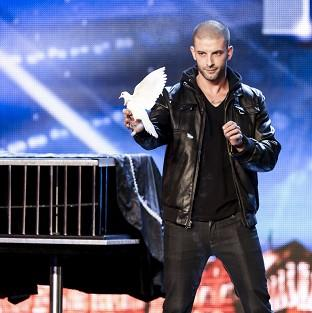 ITV handout photo of Darcy Oake during the auditions for Britain's Got Talent.