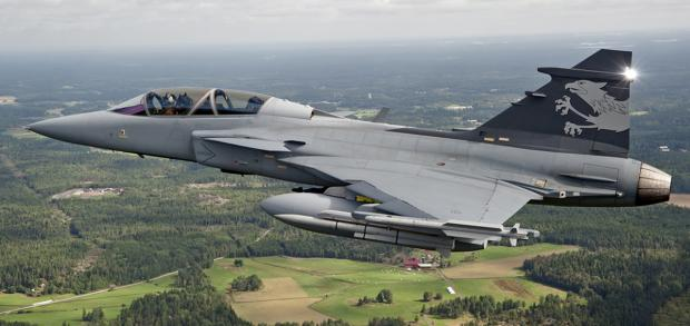 The Gripen aircraft...now with Oxley LEDs