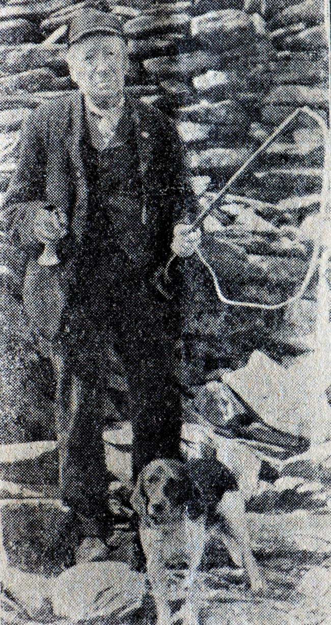Edward Swainson, who climbed the Old Man of Coniston at the age of 95