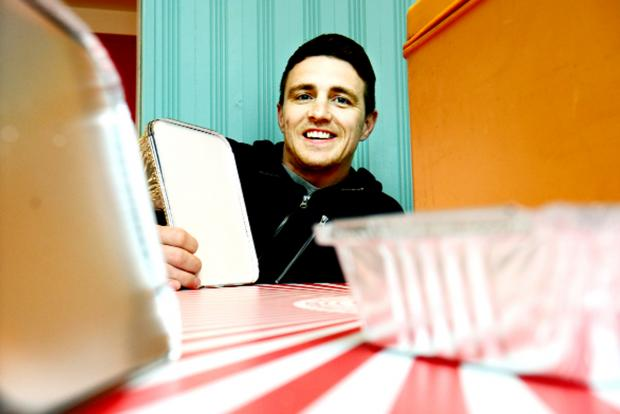 Christian Hoyle, from the TT Diner at Stramongate, Kendal, is leading the call to find new volunteers for the Community Meals Service in South Lakeland