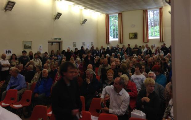 'We will have ghost villages' - Windermere and Bowness residents turn out in force in opposition to on-street parking charges