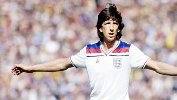 Paul Mariner in action in 1982