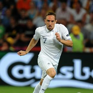 Franck Ribery is not going to Brazil