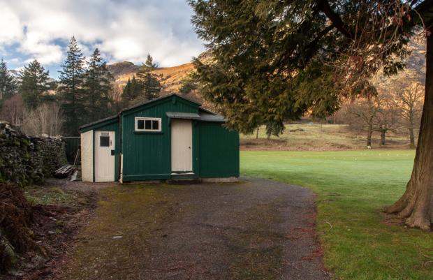 Coniston Cricket Club's pavilion