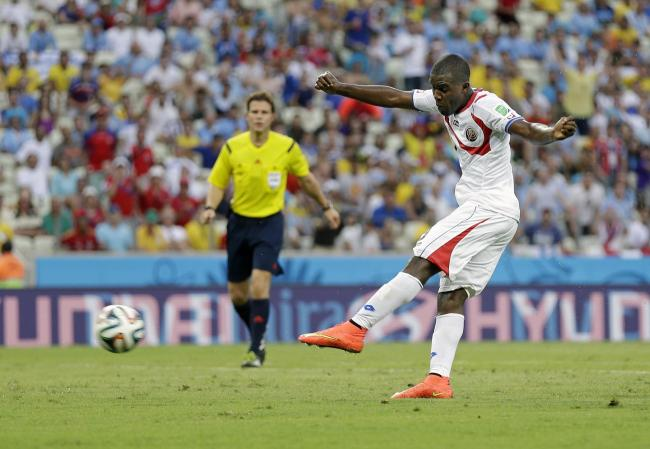 Uruguay shocked by rampant Costa Rica